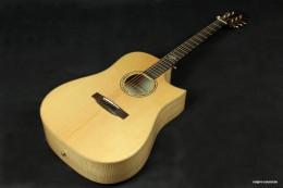 akustische Gitarre, ausgesuchte Hölzern, genialer Klang