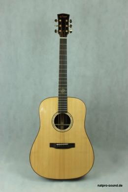 Akustische Gitarre, genialer Klang, hohe Qualität, fein gearbeitet
