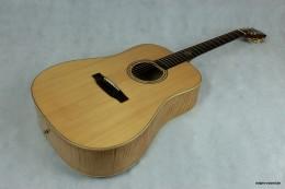 Akustische Gitarre guter Sound und professionell gefertigt.